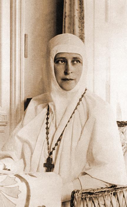 Великая Княгиня в своей приемной.1915 г.